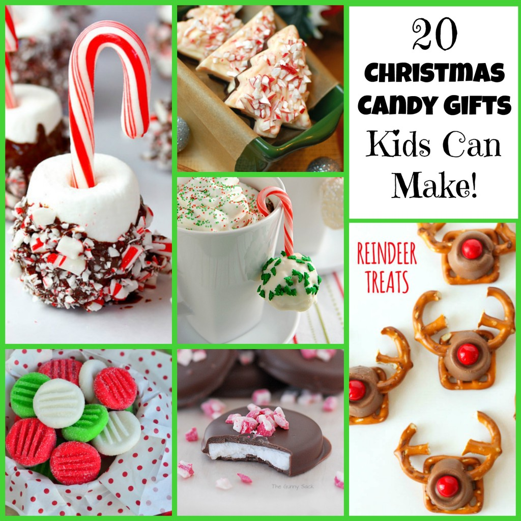 20 Christmas Candy Gifts Kids Can Make! | Letters from ...