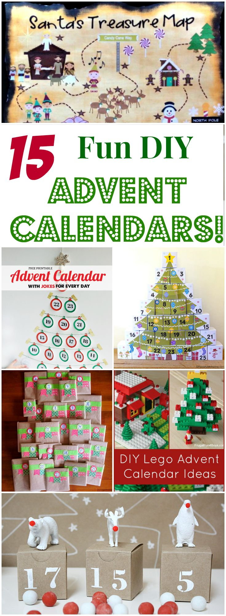 Diy Calendar For Kids : Fun diy advent calendars for kids letters from santa