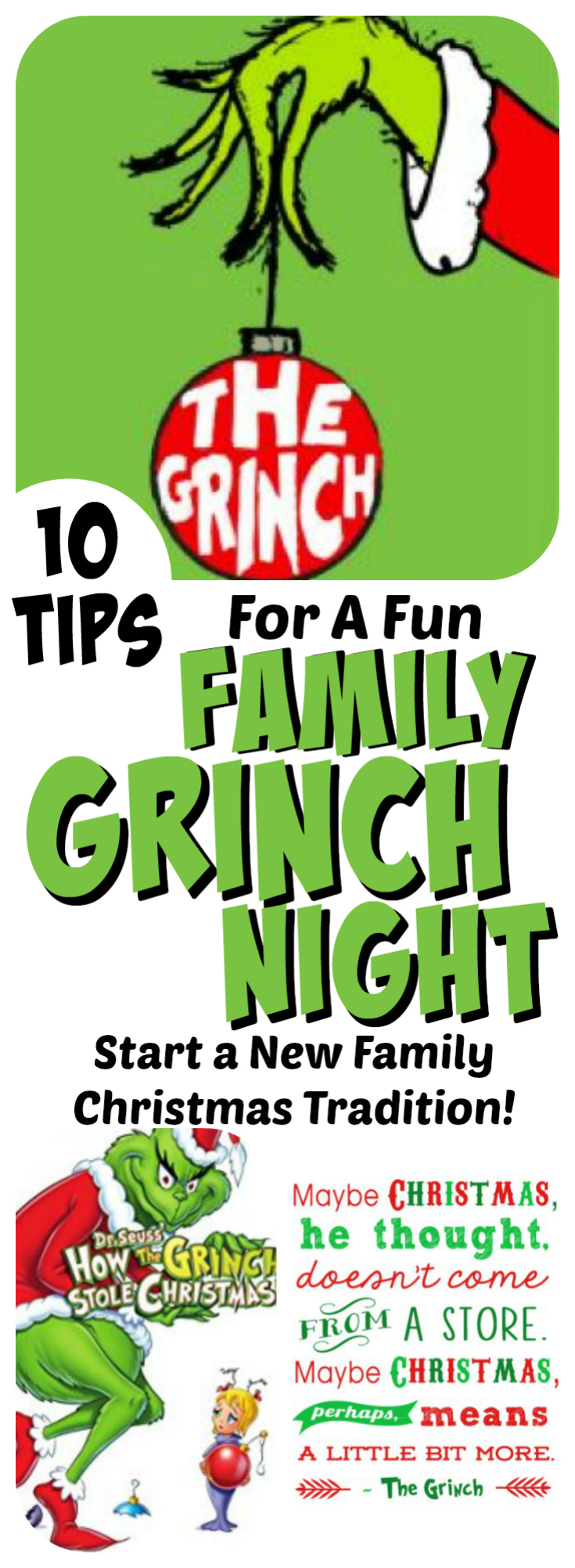 Grinch Night A Fun Family Christmas Tradition  Letters From Santa