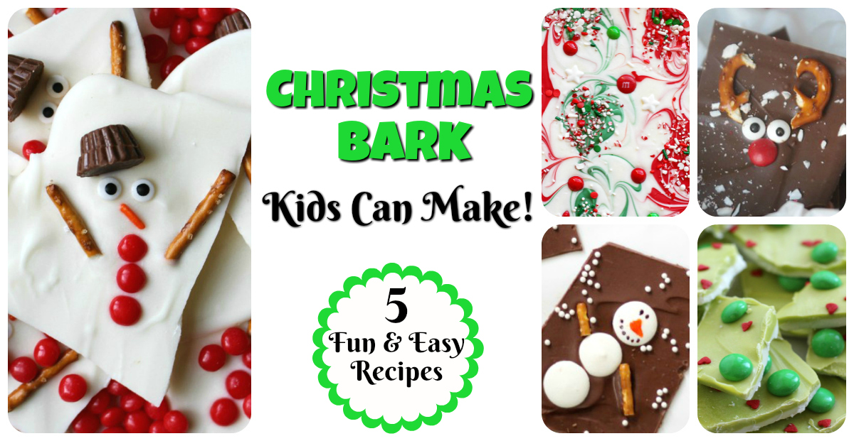 Christmas bark kids can make 5 fun ideas letters from for Fun blog ideas