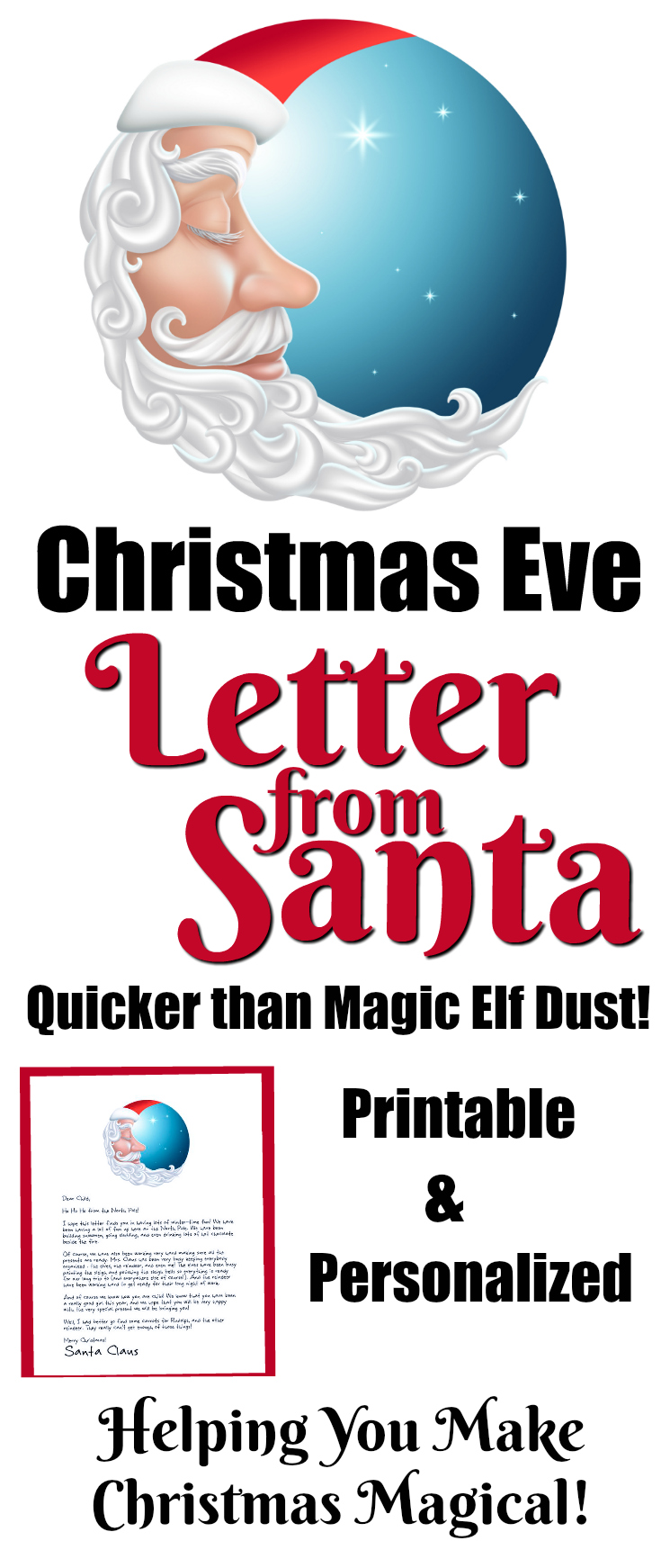 christmas eve letter from the elf