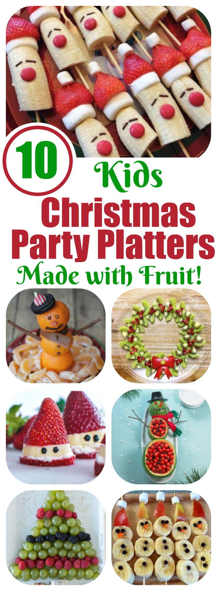 fruit platters for kids 10 christmas party platters letters from
