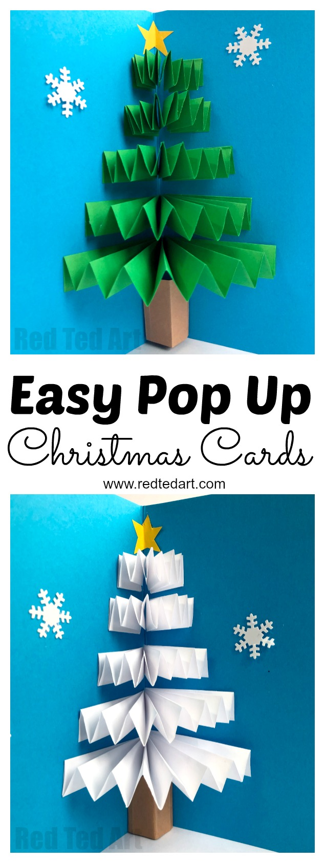 christmas cards kids can make  10 more ideas
