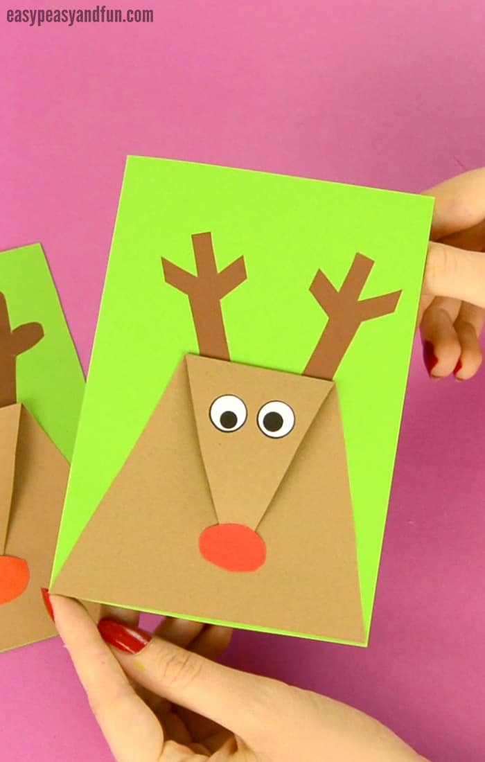 Christmas cards kids can make 10 more ideas letters for Fun blog ideas