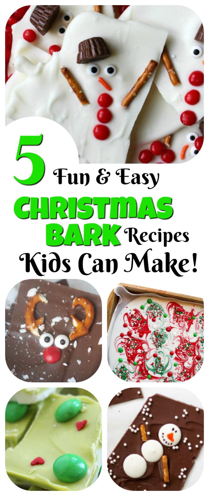 Christmas Bark Kids Can Make: 5 Fun Ideas! | Letters from Santa Blog