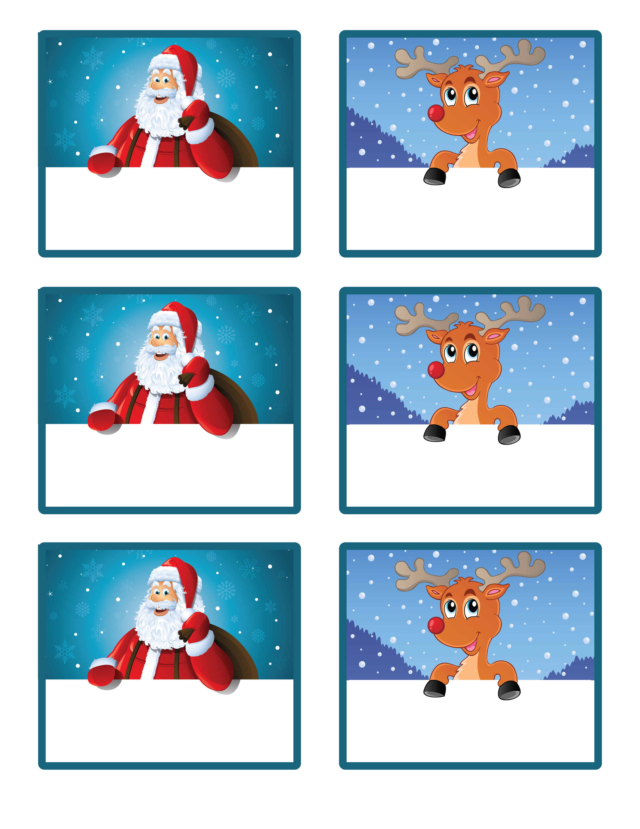 image regarding Christmas Labels Printable referred to as Santas minor present toward your self! Free of charge Printable Reward Tags and