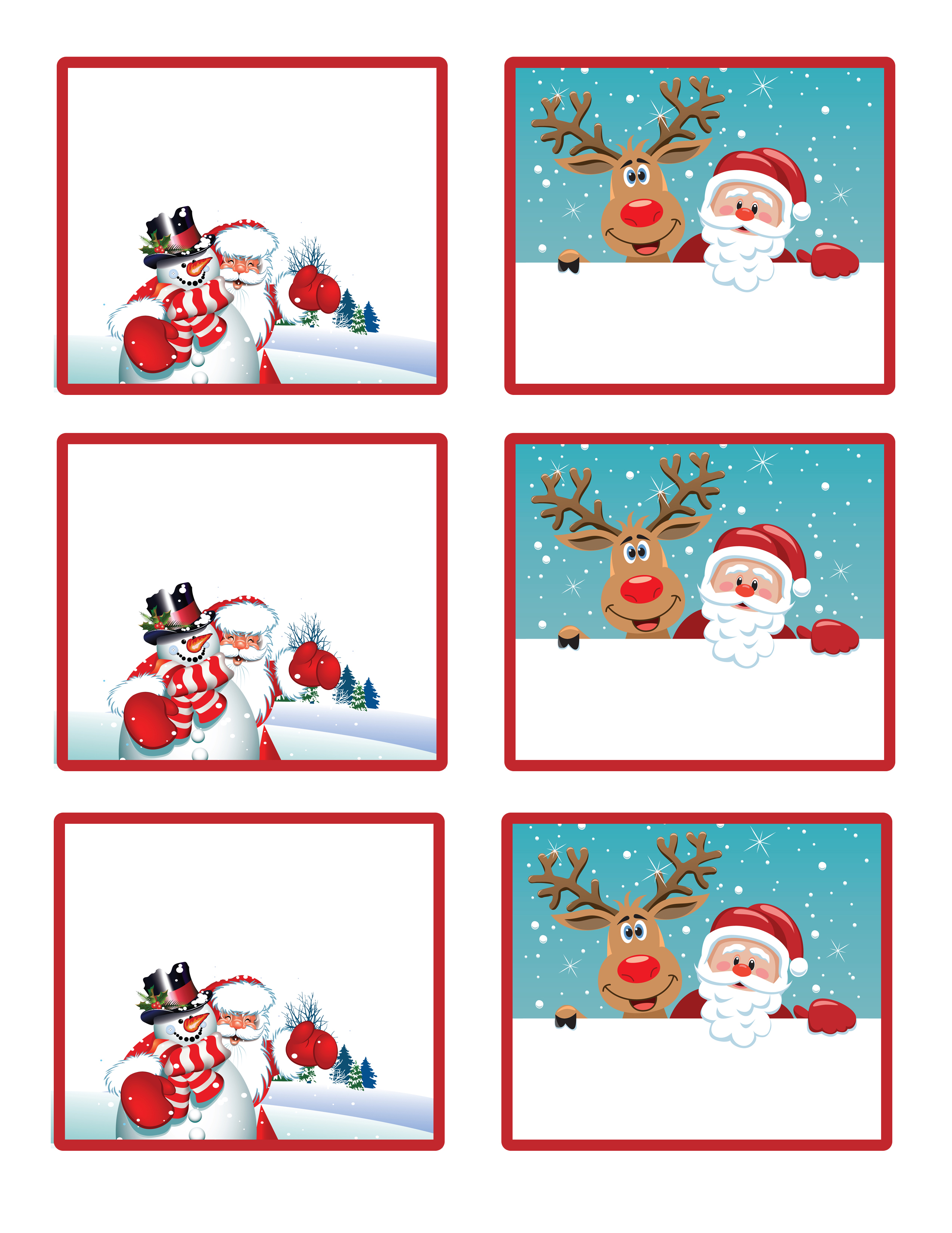 Santa\'s little gift to you! Free Printable Gift Tags and Labels ...