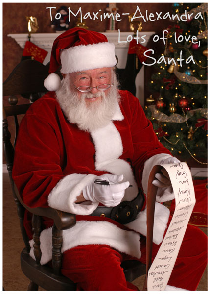 Santas little gift to you free printable gift tags and labels signed photo from santa negle Gallery