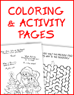 Christmas Coloring and Activity Pages